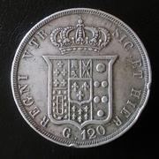 120 grana 1846 Ferdinando II Estados Italianos Napoles y Sicilia 20180330_111810-1