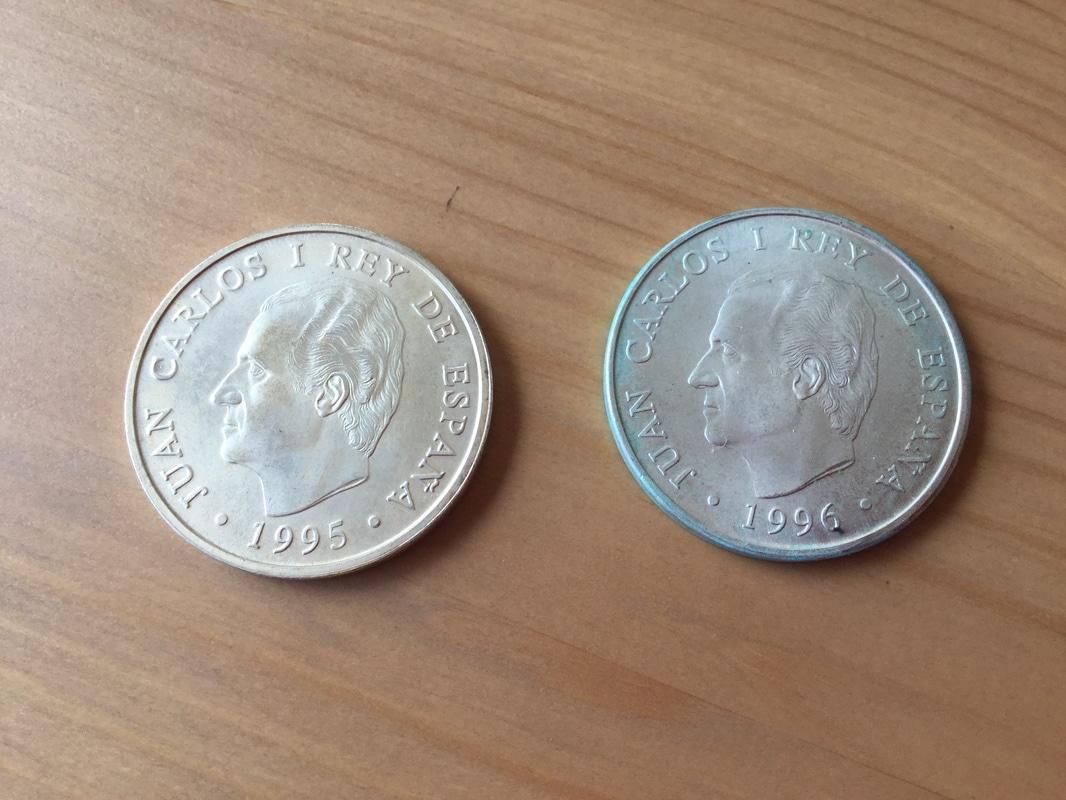 Limpieza moneda de plata con aceite de oliva. Resultado IMG_0450