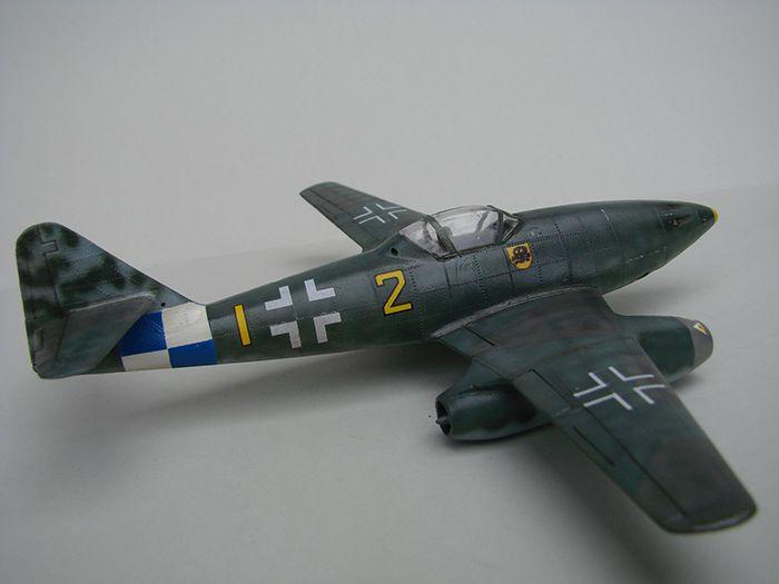 Messerschmitt Me-262 A-1a, stari Revell, 1/72 REBUILD DSC04342