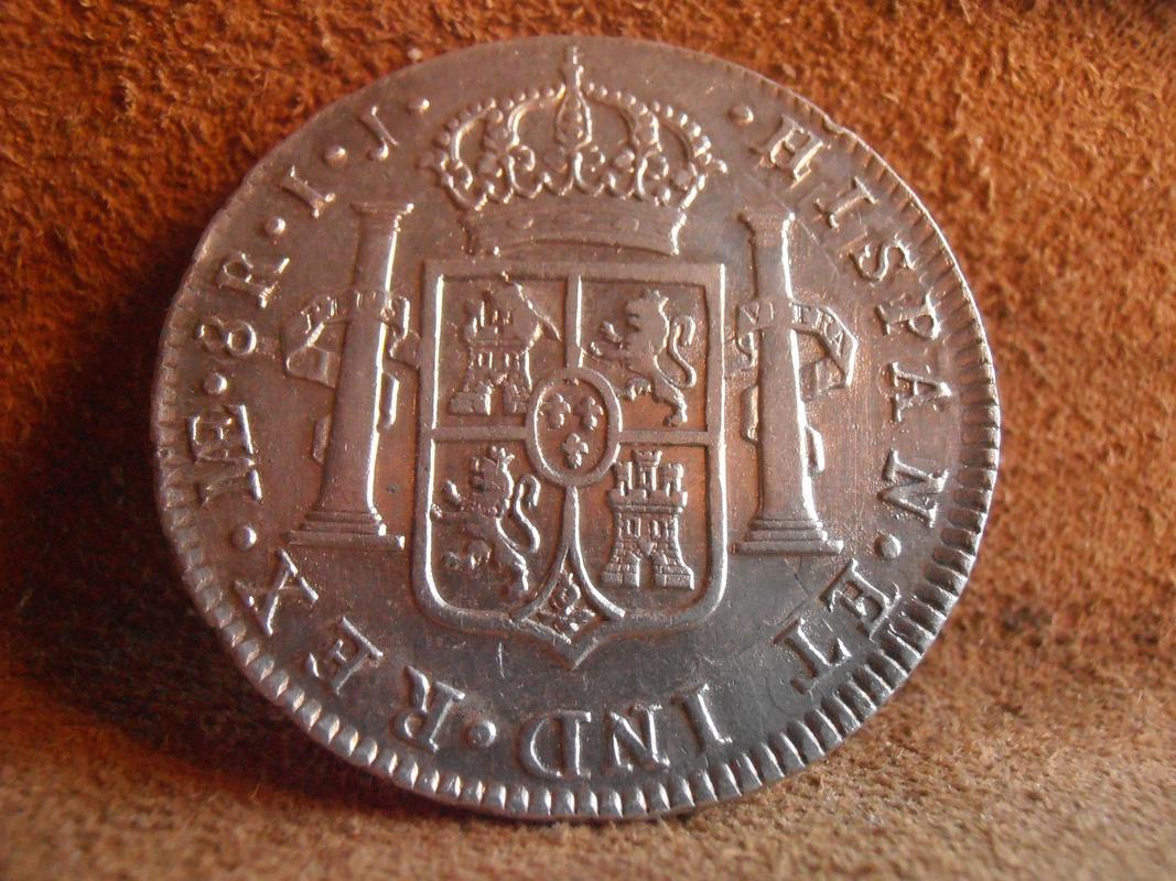 8 Reales 1795 Carlos IV. Lima I.J. PC038608