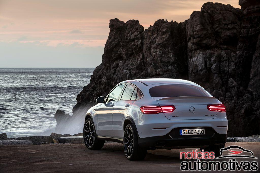 Mercedes-Benz GLC 2018: novidades, detalhes, consumo, preço e fotos Mercedes-_GLC-_Coupe-2018-2