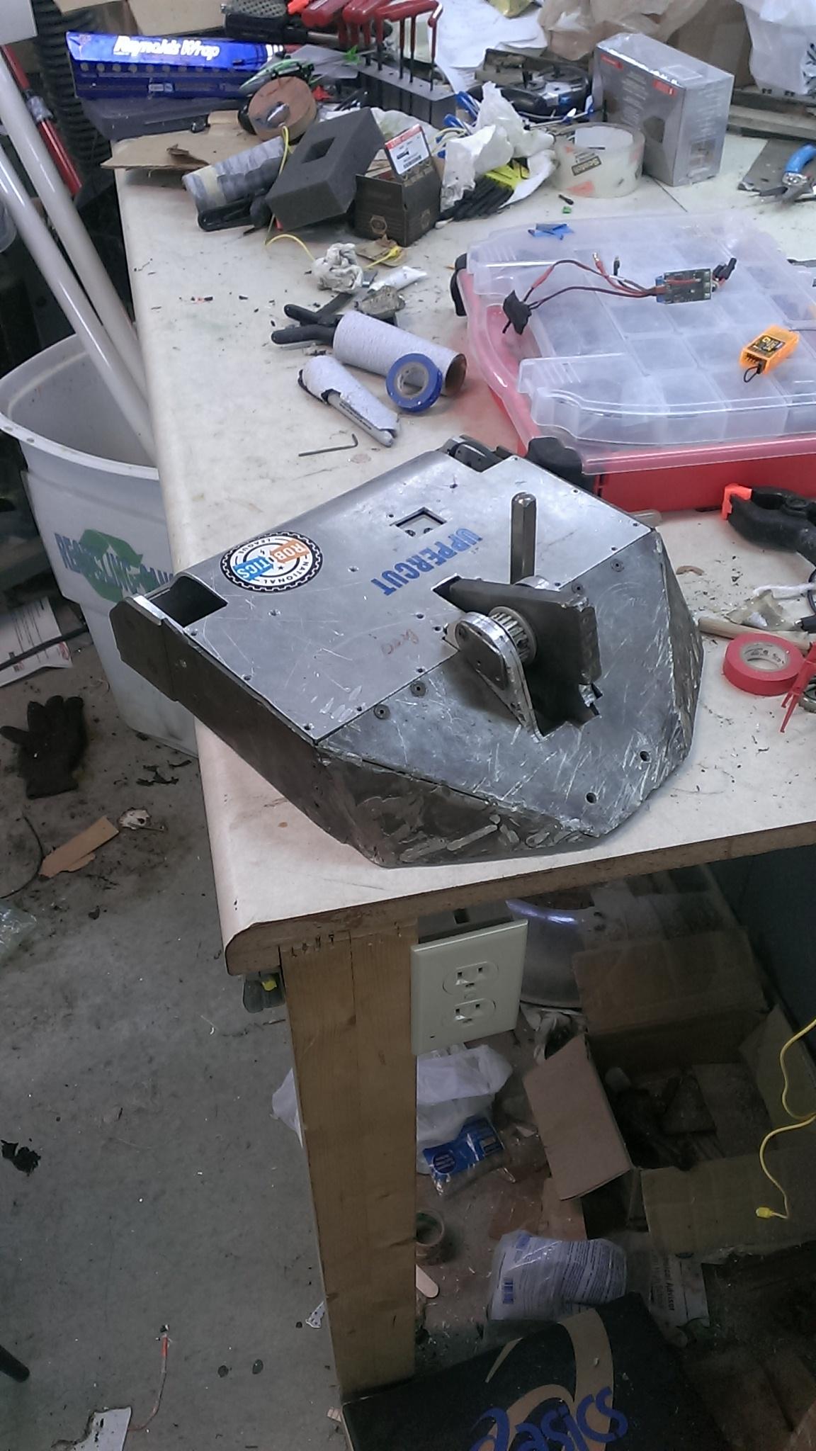 New 15 pound beater bot IMAG3300