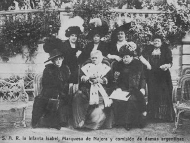 10 Centimos 1878 Alfonso XII LA_INFANTA_CON_DAMAS_ARGENTINAS