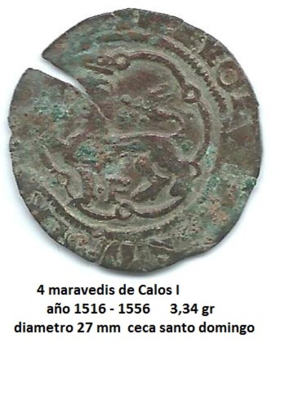 4 maravedís de Carlos I Image
