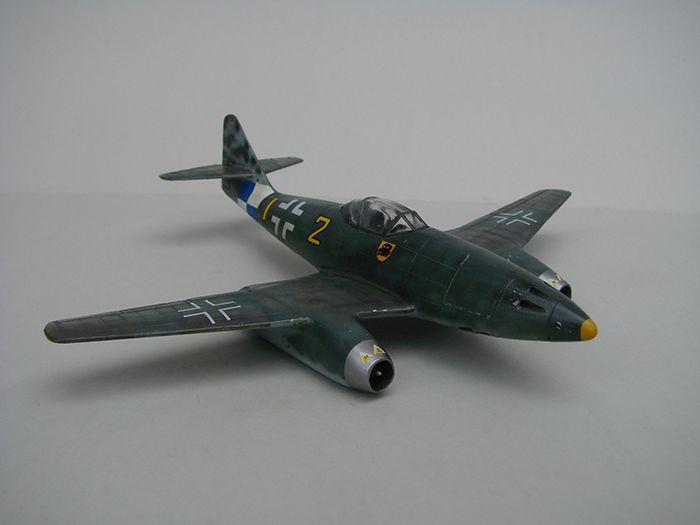 Messerschmitt Me-262 A-1a, stari Revell, 1/72 REBUILD DSC04341