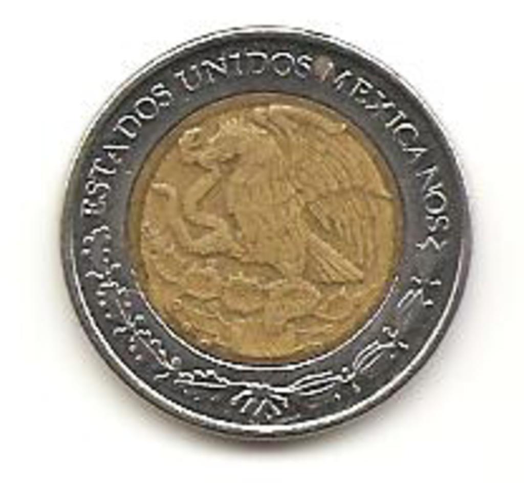 1 peso de 2002 México   Image