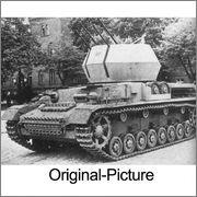 Немецкие ЗСУ на базе Panzer IV - Möbelwagen, Wirbelwind, Ostwind Wirbelwind_14
