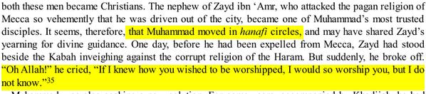 la Religion de Mahomet avant sa prophétie: UN HANIF Hanif1