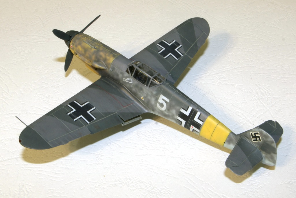 "bf-109 f4 Герхард Баркхорн ""Az model"" 1/72 IMG_6744"