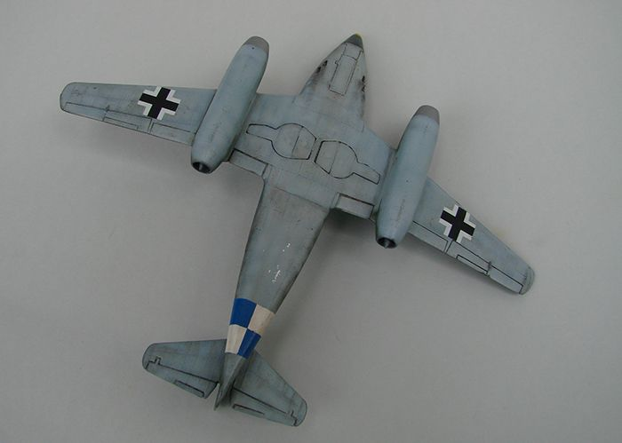 Messerschmitt Me-262 A-1a, stari Revell, 1/72 REBUILD DSC04343