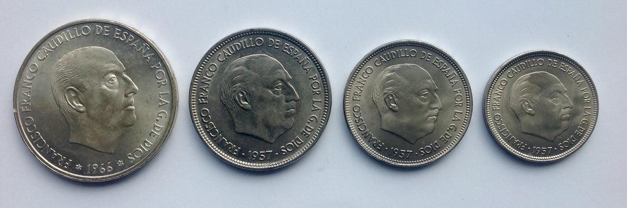 25 pesetas 1957 (*67). Estado Español. Opinión IMG_3522