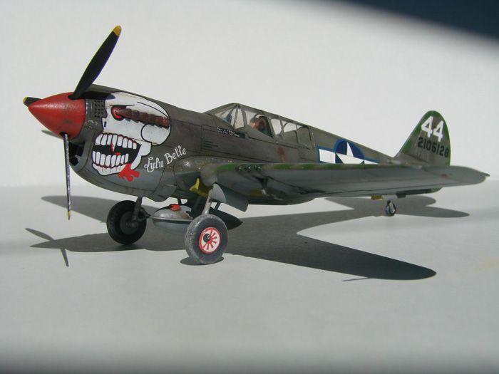P-40N(rebuild), Hasegawa, 1/72 DSC03739