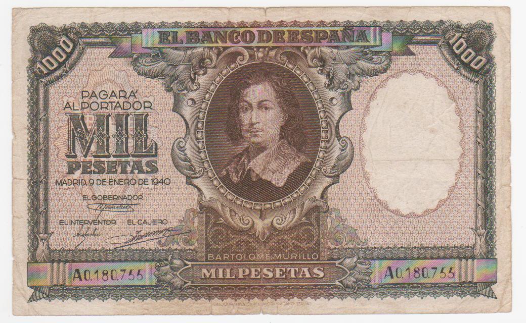 1000 Pesetas 1940 (Murillo) 1000_pesetas_1940_murilllo