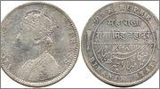 INDIA - Estados Nativos - BIKANIR  1 Rupia 1892 India_Estados_Nativos_Bikanir_1_Rupia_1892
