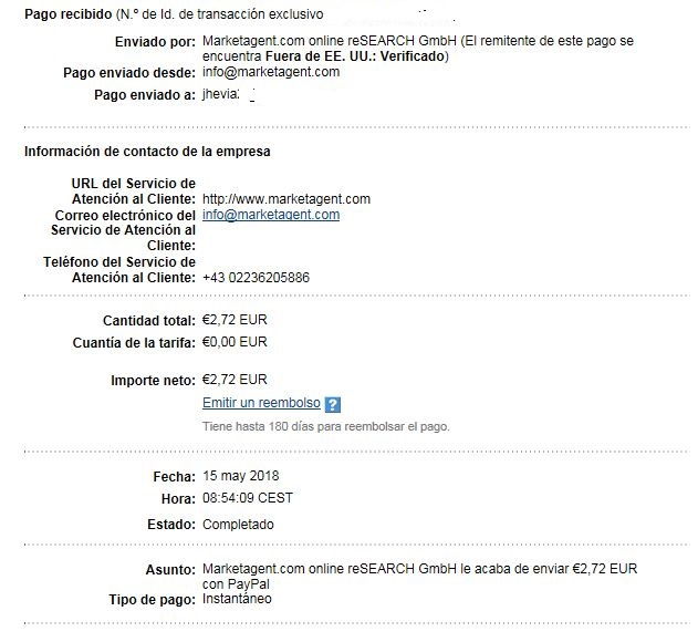 [PAGANDO] 7º Pago de MarketAgent - 2.72 Euros Market_Agent7_Pago150518