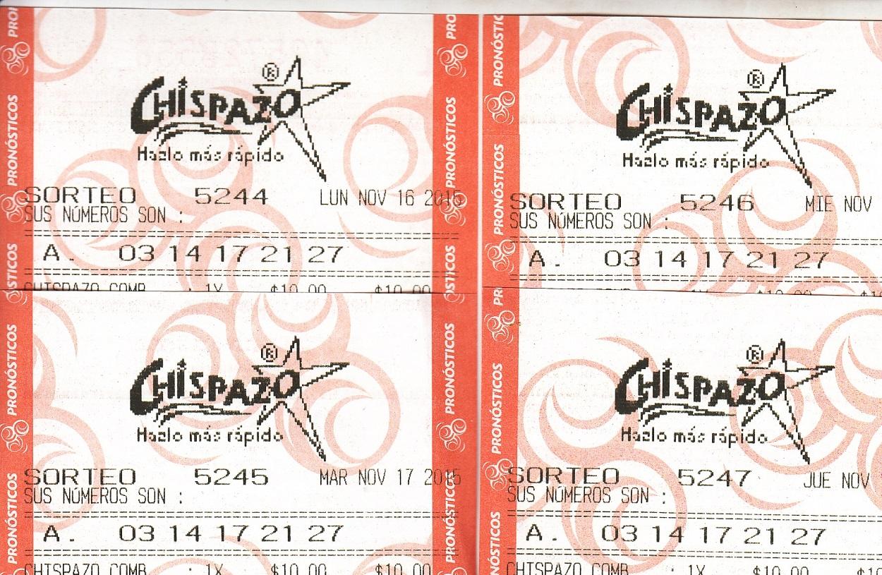 4ta: TEMPORADA DE QUINIELAS, ULTIMOS CARTUCHOS IMG_0001