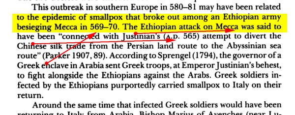 Variole Arabique autre preuve Historique et Scientifique VARIOLE2