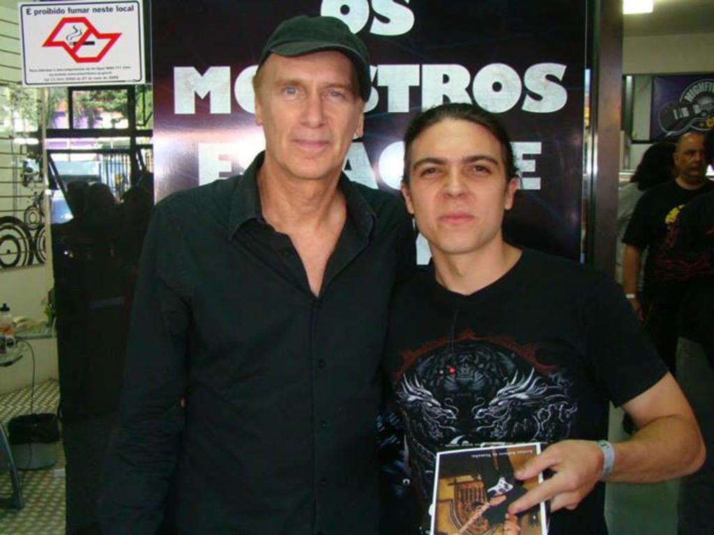 Billy Sheehan no Brasil Image