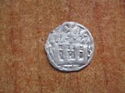 Dinero burgalés de Alfonso VIII de Castilla 1158-1214 ceca indeterminada IMG_1539