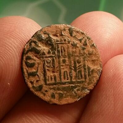 Cornado de Alfonso XI de Castilla 1312-1350 Burgos. Cornado_b