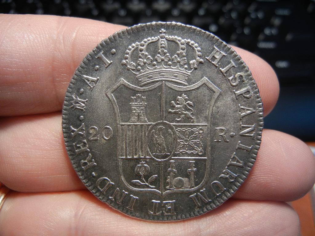 Diferencias en monedas de 20 Reales de Jose Bonaparte  DSCN0040