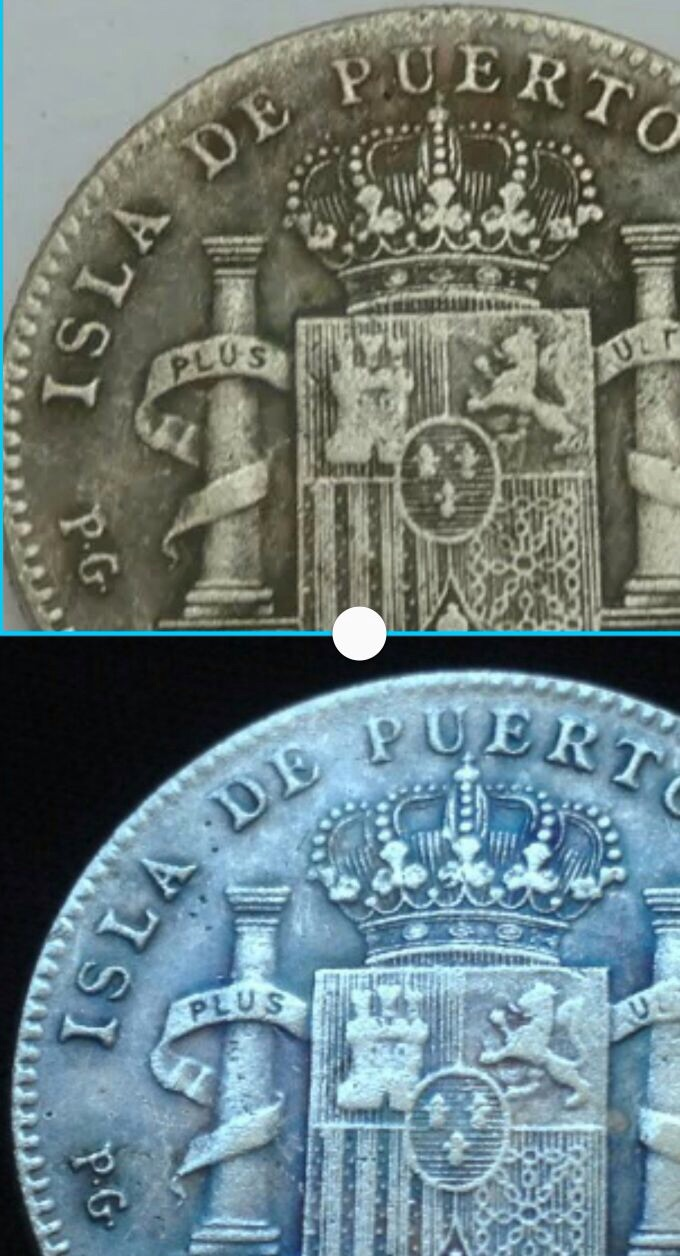20 centavos 1895 Afolso XIII Opinion Image