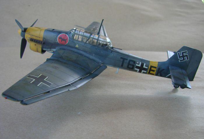 Ju-87B-2 Stuka, Fujimi, 1/72 DSC00349