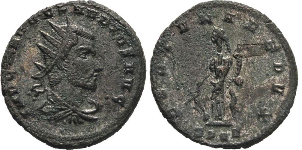 Antoniniano de Claudio II. FORTVNA REDVX. Claudio_ii_spqr