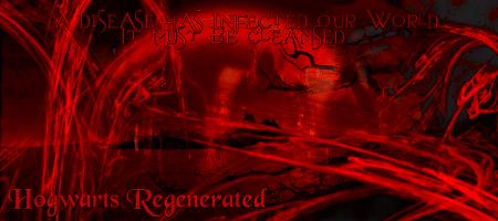 Hogwarts Regenerated - au post potter, war on creatures Sitead