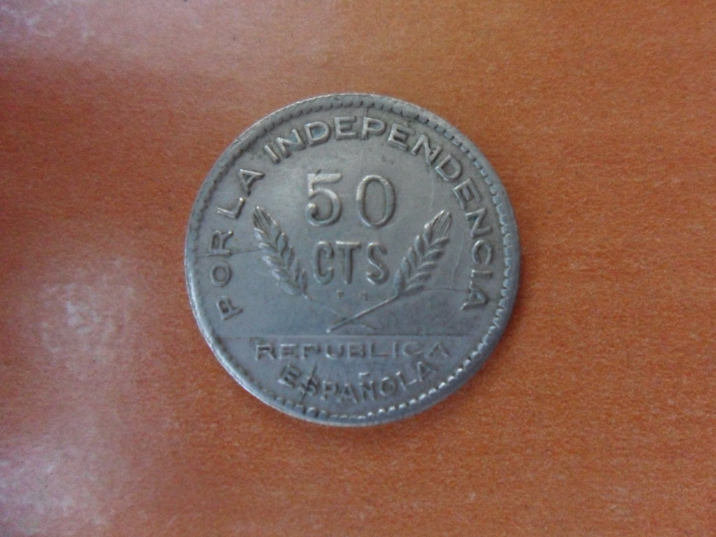 50 CENTIMOS 1937. Consejo de  SANTANDER PALENCIA Y BURGOS. 002