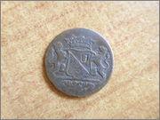 1 duit 1762 Utrecht resellos. P1290471
