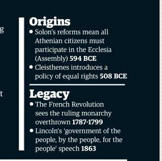 Mythe de Démocratie Athénienne Image