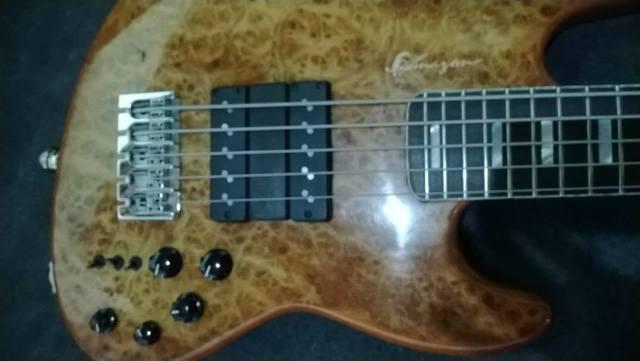 Novo Jazz Bass da Amazon Custom bass !!! 1656165_594399900647807_1419859587_n