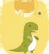 TIENDA DE ITR - Página 4 Babero_dinosaurio