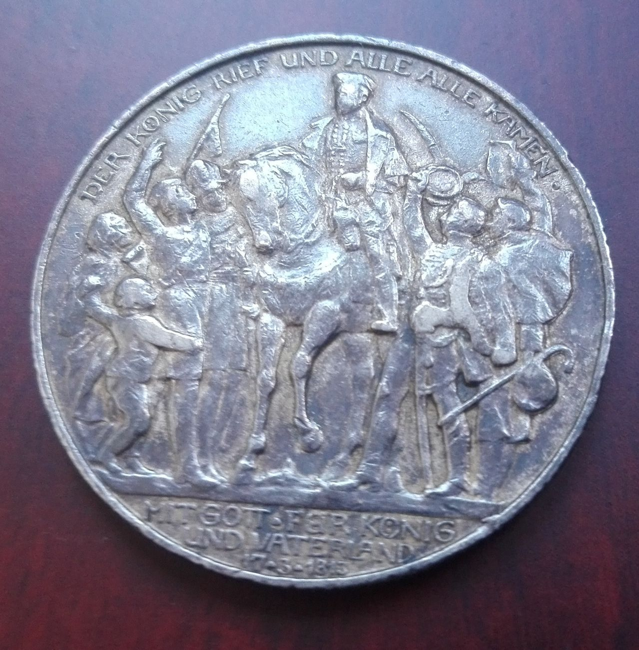 2 marcos 1913, Guillermo II. Prusia. Alemania 3_marcos_1913_rev_2