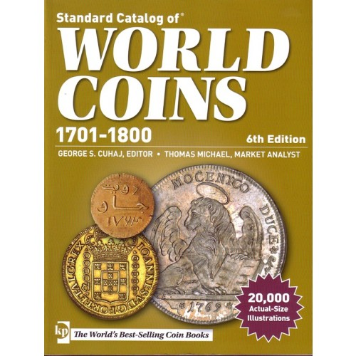 2014 Standard Catalog Of World Coins 1701-1800 Wc1701