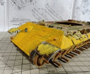 PzKpfw V Panther из роты Сотникова № 518. Звезда 1/35. ГОТОВО DSCN1611
