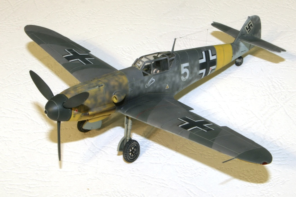 "bf-109 f4 Герхард Баркхорн ""Az model"" 1/72 IMG_6742"
