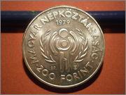 200 Forint Hungria 1979 International Year of the Child PB050525