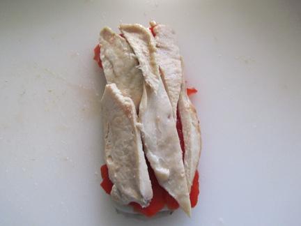 Pencas rellenas de pollo, queso y pimiento IMG_0578