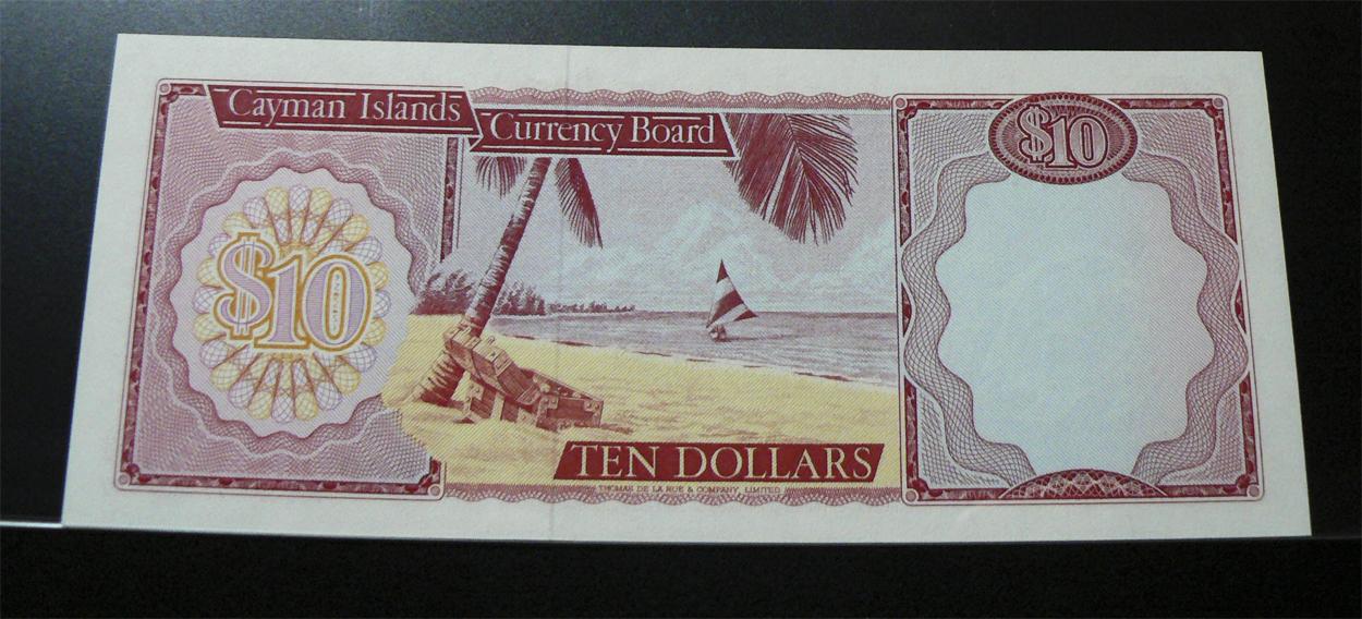 10 Dólares Islas Caimán, 1974 Ci7r