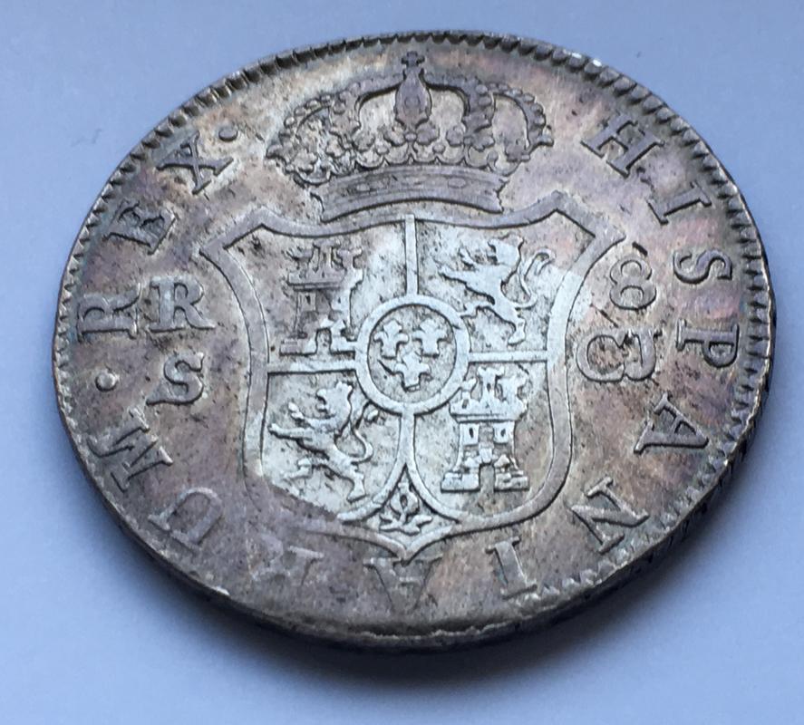 8 reales 1816. Fernando VII. Sevilla C.J. 8_E0_D1_E76-7_E23-43_A4-_B3_FC-8_BAA9_FDE9_BC4