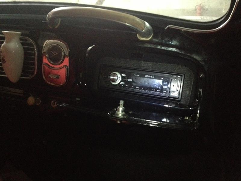 Colocación de la radio IMG_0491