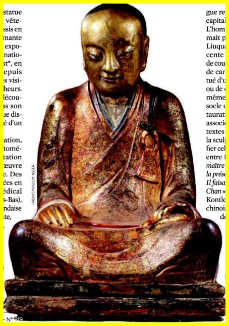 Bouddhisme et son plagiat de   momification 'Égyptienne Image