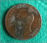 Vittorio Emanuell it re - 1867 - Moneda Buena_3_1