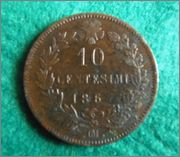 Vittorio Emanuell it re - 1867 - Moneda Buena_3_2