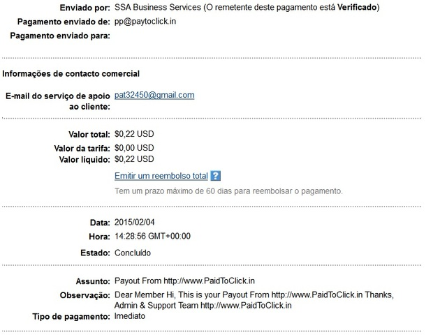 PaidToClick.in -Provas de Pagamento Pag_21_paidtoclick_in