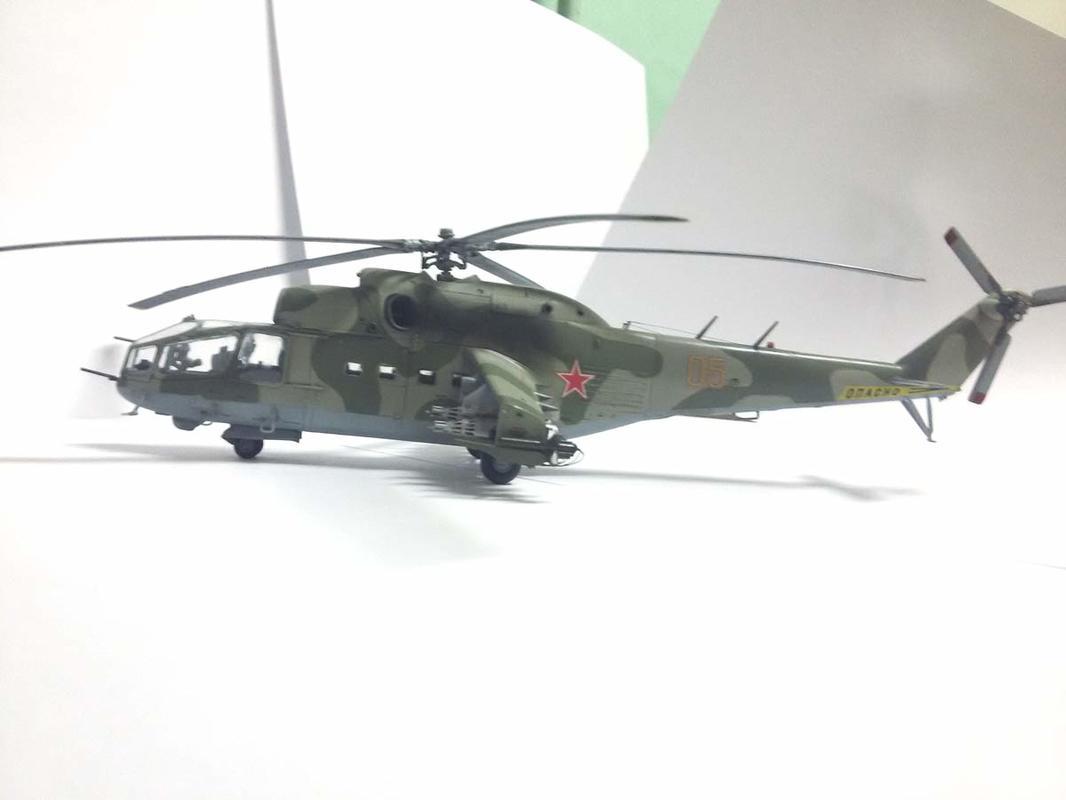 Ми-24А Звезда 1/72 - Страница 3 20170401_004443