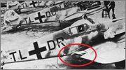 """Bf-109 g-6AS W.Oesau """"Az model"""" 1/72 075"""