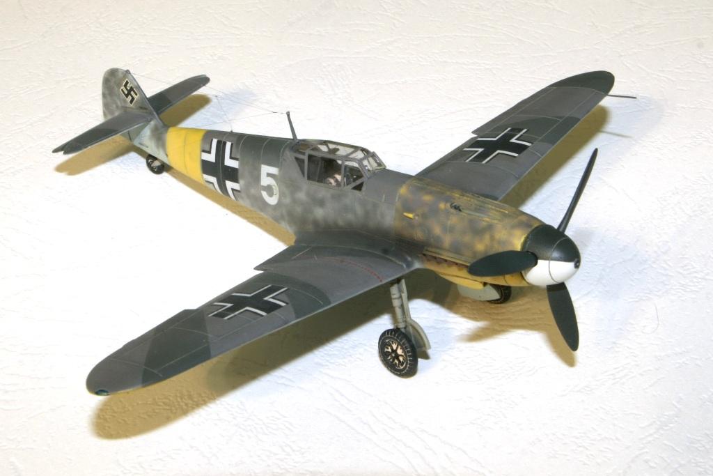 "bf-109 f4 Герхард Баркхорн ""Az model"" 1/72 IMG_6748"